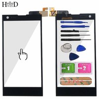 5 0 ''Handy Touch Screen TouchScreen Für THL T100S Touchscreen Digitizer Teile Screen Front Glas Panel Werkzeuge Protector Film|Handy-Touch-Panel|   -