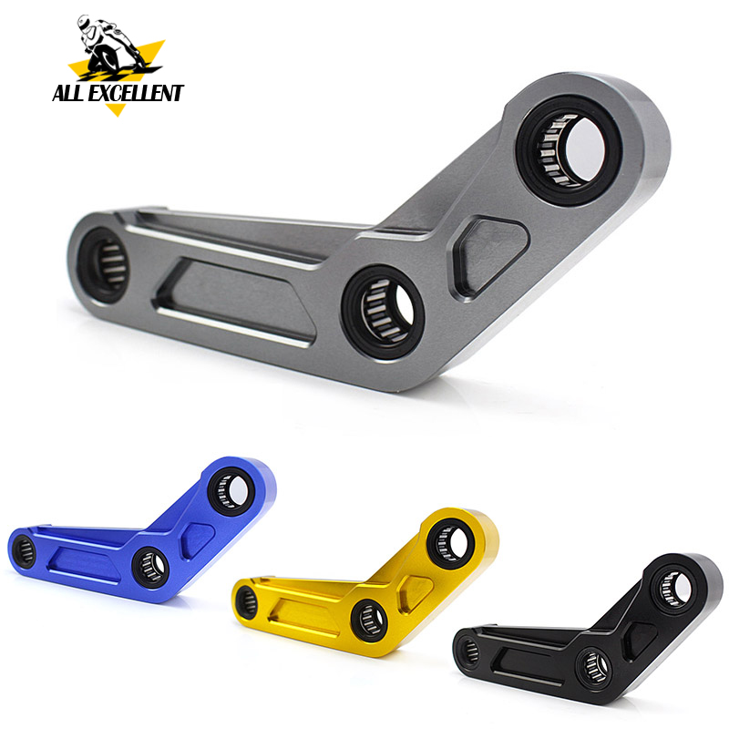Motorcycle CNC Aluminum 30mm Adjustable Lowering Link Kit for 2014 2018 YAMAHA MT 07 FZ 07