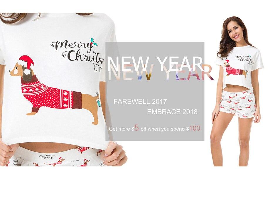 Summer 2019 Women Tops Corgi Print Sleep Top Cute Batwing Sleeve S-xxl Cotton T Shirt Pajamas T61014 A Great Variety Of Models Underwear & Sleepwears