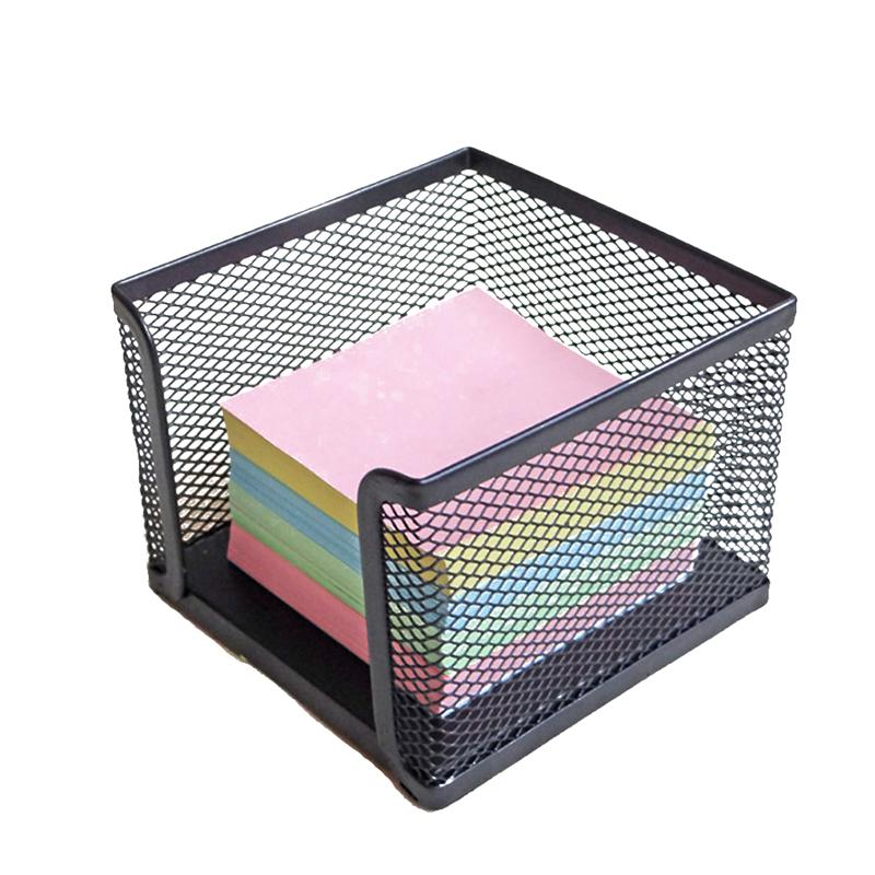 Wire Sticky Note Dispenser Simple Elegant Durable Note Dispenser Note Pad Organizer Sticky Note Holder for Office Home School