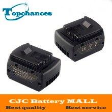 2X High Quality 14.4V 4000mAh Power Tool Li-ion Battery For Bosch BAT607 BAT607G BAT614 BAT614G 2 607 336 318