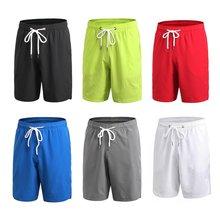 Yuerlian 7054 Homens Shorts Shorts de Corrida Respirável Shorts De Basquete  Calças Soltas Suave de Secagem Rápida Calções De Fit. 4dd7d35efa567