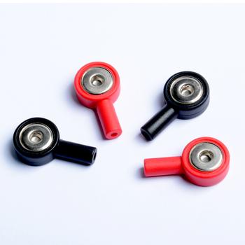 100 sztuk 50 czerwonych i 50 czarnych TENS przewody przyłączeniowe Pin to Snap Connect adaptery 2mm Pin do 3 5mm i 3 9mm Snap Connector tanie i dobre opinie Copper foil wire Średni Body Masaż i relaks KM027 2mm Pin to 3 5mm 3 9mm Snap Connector