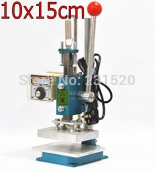 Combo Hot Stamping Machine Leather Debossing Machine 15x10cm 220VCombo Hot Stamping Machine Leather Debossing Machine 15x10cm 220V
