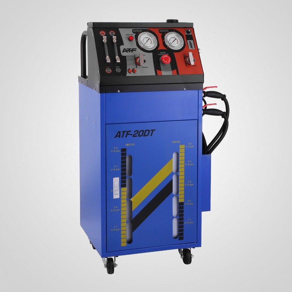 DC12V huile changement Machine dispositif de rinçage engrenage liquide échangeur 0-60PSI liquide affleurant la Machine sens de l'écoulement automatique contrôlé