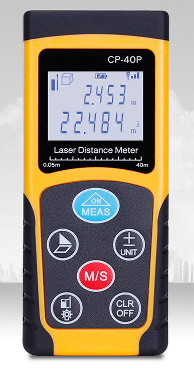CP-40P/60P/80P/100P The new mini Handheld Laser range finder 40 m -100 meter distance meter cp 40p 60p 80p 100p the new mini handheld laser range finder 40 m 100 meter distance meter