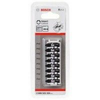 Bosch 2608522324 팁 스크류 드라이버 임팩트 ph2x8 25mm 인서트 8uds