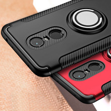 For Xiaomi Redmi 5 Plus Note 5 Pro Case Hybrid Shockproof PC+Silicone Rugged Armor Finger Ring Holder Full Cover for Redmi Note5 велосипед cube access hybrid pro 500 27 5 2018