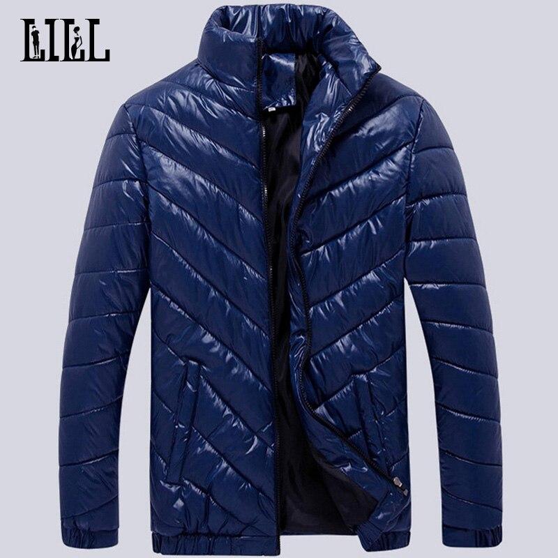 2016 Hiver Mode Hommes Down Vestes Imperméable Mâle Survêtement Respirant Casual Manteaux Coupe-Vent Plume Veste Pour Hommes, UMA284