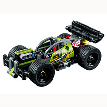 Technic 2 in 1 WHACK pull back fit for LegoING 42072 race car children bricks model building sale toys gift for kids 2018 decool super racing technic car 2 in 1 model building block toy sets fit for lego 42072 42073 for minifigure for lepin