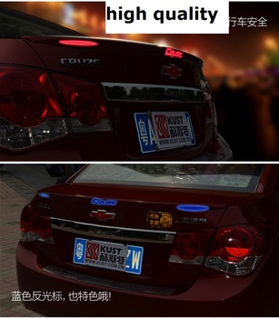 fit for Chevrolet  Cruze  baking varnish stove varnish  Spoiler spoiler  Wing rear wing different colors