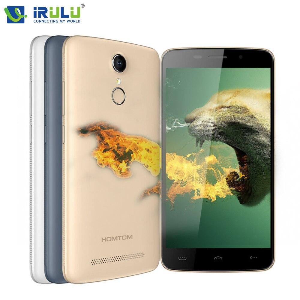 bilder für Original HOMTOM HT17/HT17 Pro 4G Smartphone Android 6.0 Handy MTK6737 1280x720 HD 8.0MP Kamera GPS, OTG 3000 mAh