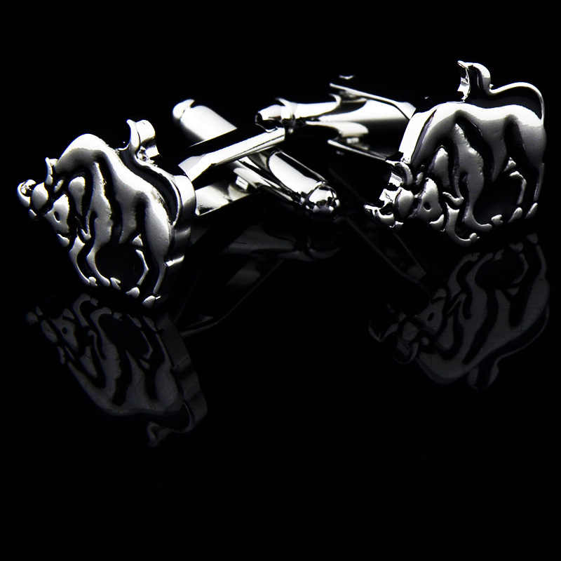 Жених Свадебная вечеринка запонки из нержавеющей стали тельняшки выдалбливают Запонки Черный агат серебристый запонки с подарочной сумкой