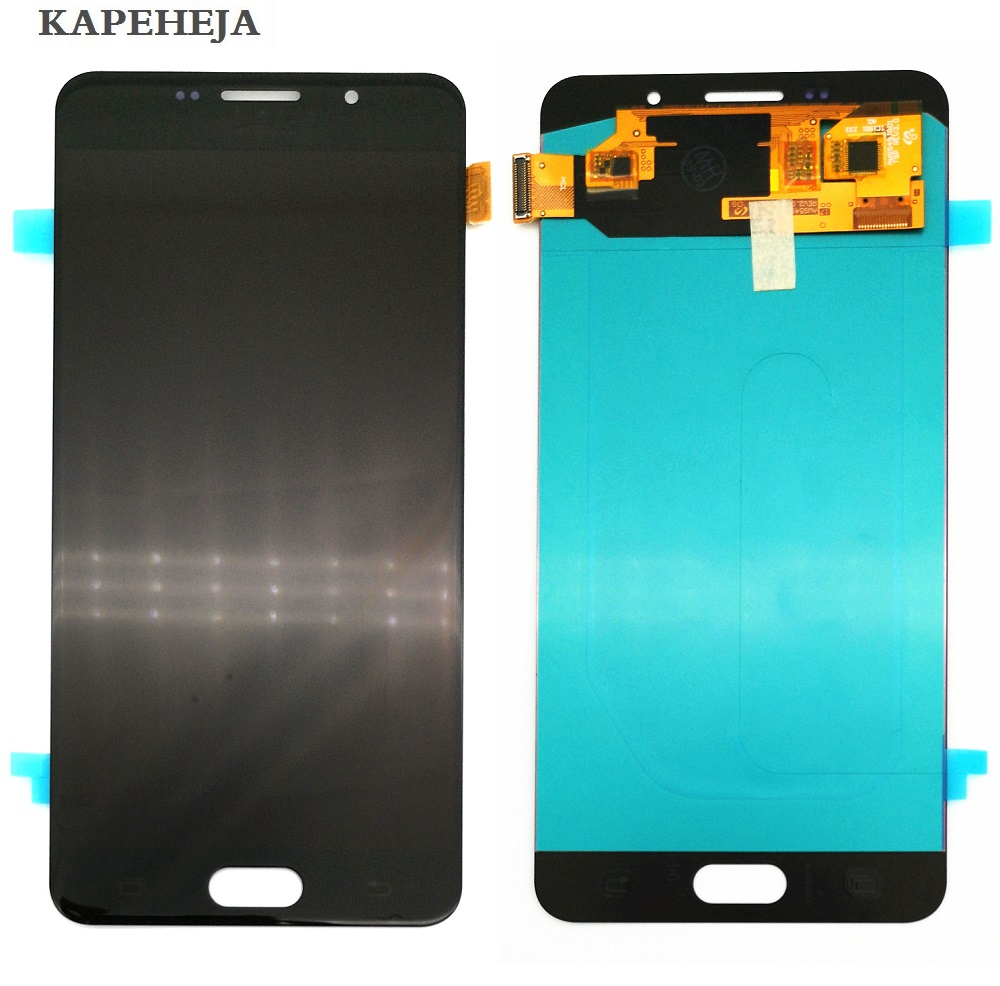 Super AMOLED LCD Display For Samsung Galaxy A7 2016 A710 A7100 A710F A710M LCD Display Touch Screen Digitizer AssemblySuper AMOLED LCD Display For Samsung Galaxy A7 2016 A710 A7100 A710F A710M LCD Display Touch Screen Digitizer Assembly