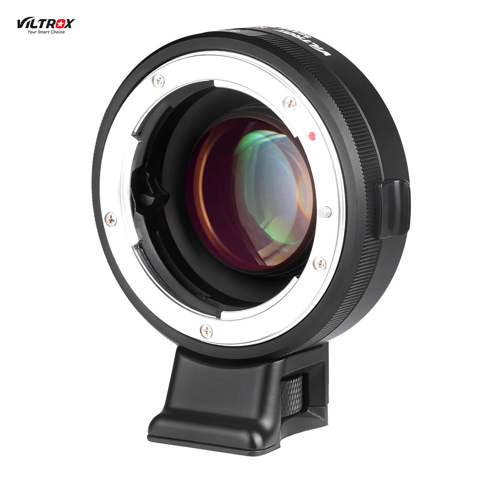 VILTROX NF-E Manual-focus F Mount Lens Adapter Telecompressor Focal Reducer Speed Booster for Sony NEX E-mount Camera