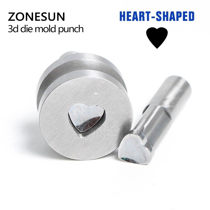 ZONESUN 1 set of custom die punching die punch tool milk tablet die sugar pills die mold stamp TDP5/1.5 pressing tool any kind punching die press brake tooling mold