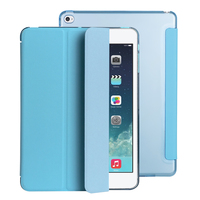 For IPad Air 2 Case Ultra Slim Magnetic Smart Flip Stand PU Leather Cover PC Hard