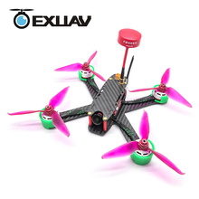 EXUAV 205 RC FPV Racing Drone Packages Flytower Racing 205MM Wheelbase 3.5mm Arms Carbon Fiber Frame Kit H Structure XT60 Plug