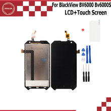 ocolor for BlackView BV6000 Bv6000s LCD Display and Touch Screen Assembly Repair Part For BlackView Bv6000 BV6000s +Tools +Film(China)