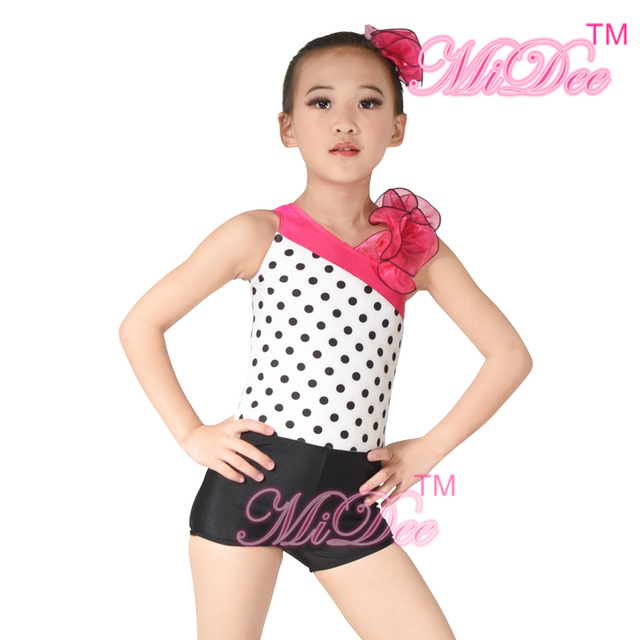 5ef16c3fa MiDee Jazz Dance Costume Modern Dance Costume One Shoulder ...