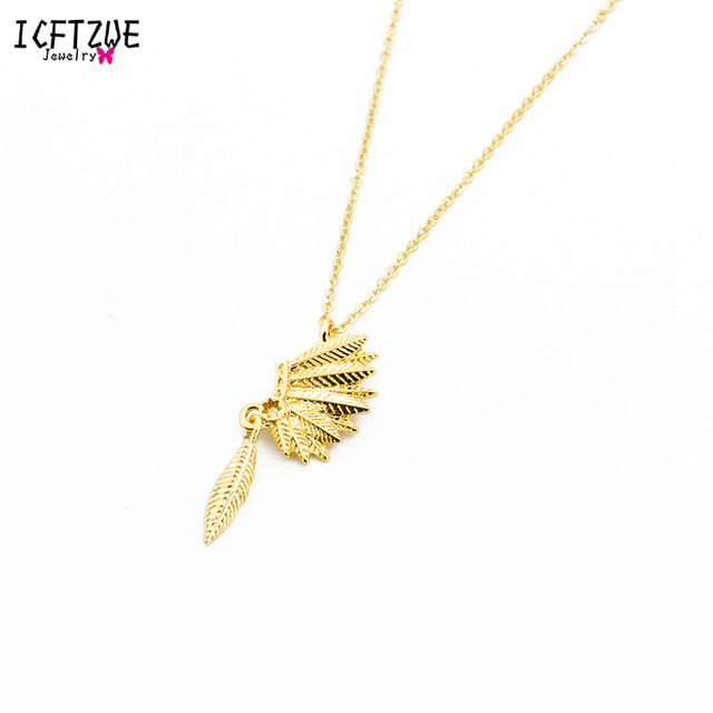 Online Shop Icftzwe Gold Silver Body Jewelry Friendship Native