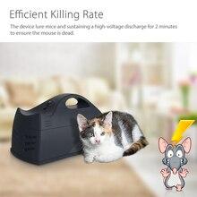 Высоковольтные удары убивает грызунов дома батареи и адаптер управляемый вредителями электрическая мышь мышей Убийца Крыс ловушка