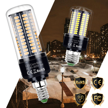 E27 Led Lamp Corn Bulb 220V Bombillas E14 SMD 5736 Lampada 3.5W 5W 7W 9W 12W 15W 20W No Flicker Lighting