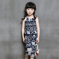 Little Fool T01026 Baby Girls Clothes Children Kids Girls Beautiful Fashion Summer Sets Girls Casual Beautiful