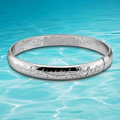 Men s bracelet bangle fashion brand jewelry for men 925 sterling silver jewelry bangle