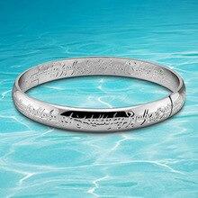 Hombres de bracelet & bangle, joyería moda marca para hombre, 925 joyas de plata brazalete