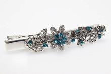 2pcs Hairpins Barrettes Ornaments Hair Clips Brides Hair Jewelry Women Crystal Clips Bridal tiara Headdress Accessories C19