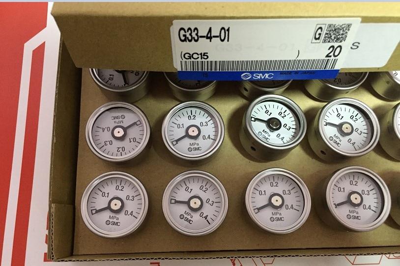 BRAND NEW JAPAN SMC GENUINE GAUGE G33-4-01 brand new japan smc genuine pressure switch pse561 01