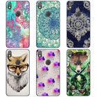 REDTOWN TPUfor Alcatel Shine Lite Case 5.0 inch Colored Drawing Soft Silicone Case Cover For Alcatel Shine Lite 5080x Gel Capa
