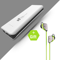 EC Technology External Portable Power Bank Battery Pack Portable Charger For IPhone 6 7 8 X