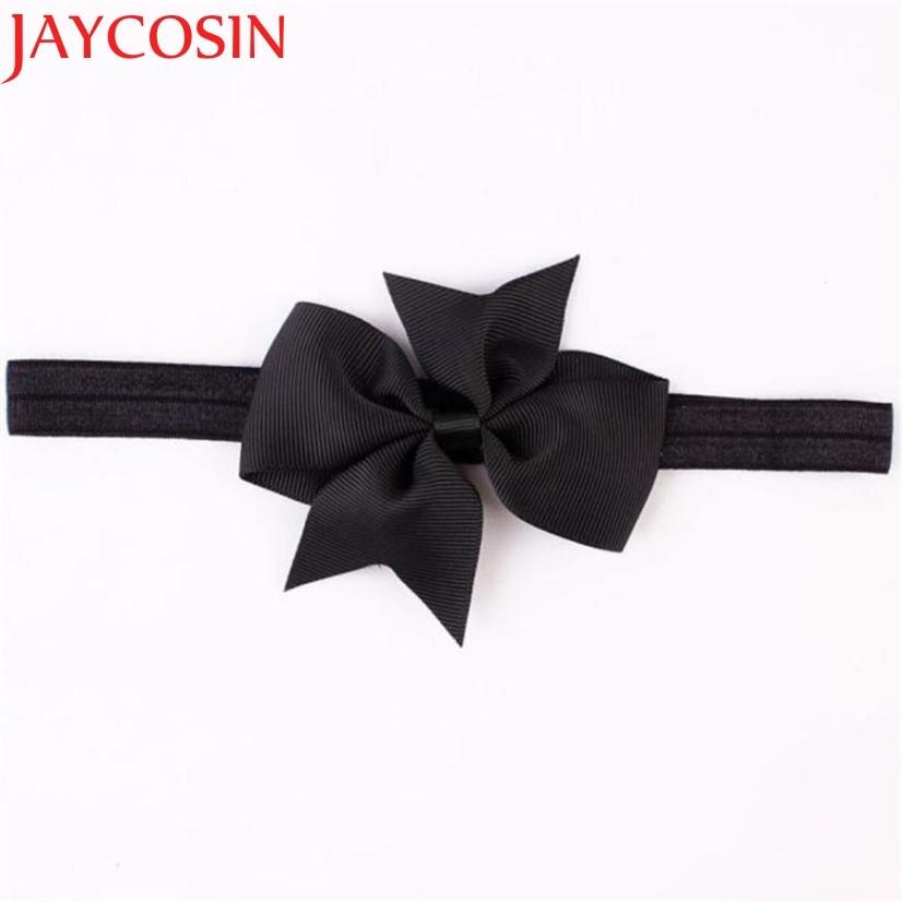 JAYCOSIN 15Colors Mini Bowknot Girl headband newborn girl Headbands Photography Props hair accessories Girl hair band WSep7 цены онлайн