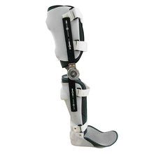 FULI knee ankle foot orthosis support lower limb support adjustable ligament splint fracture rehabilitation equipment right leg цена 2017