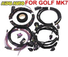 Auto Parking Front and Rear 8K 12K PLA PDC OPS Install Harness cable wire For VW Golf 7 MK7 VII for volkswagen vw golf 7 mk7 vii front and rear 8k ops parking pilot 5qd 919 294 e lhd upgrade kit 5q0919294e