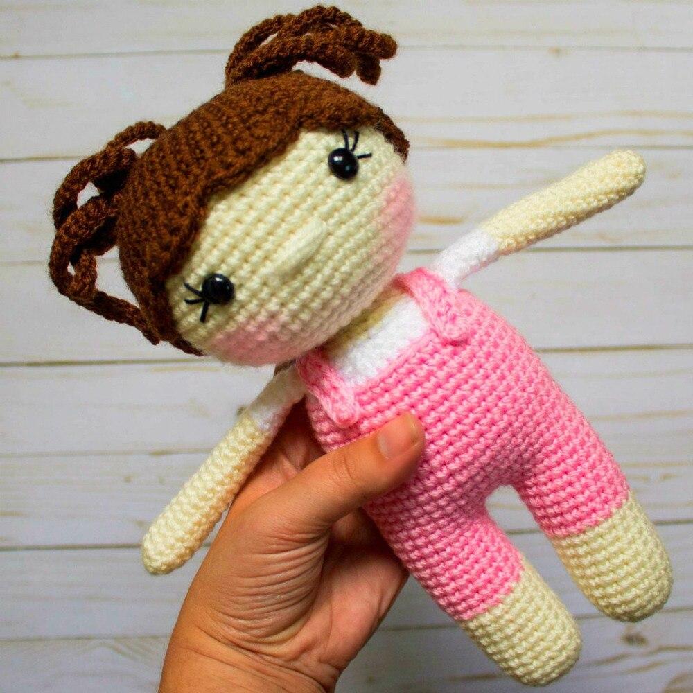 Crochet Toys  Amigurumi    Doll   Cute Girl     Model  Number  SQ0017