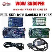 WOW Snooper V5.008 R2 + 2015 R3 + keygen tcs cdp pro pojedyncze NEC wow Multibrand opcjonalne przekaźniki dwie tablice wow diagnostyczne pojazdów