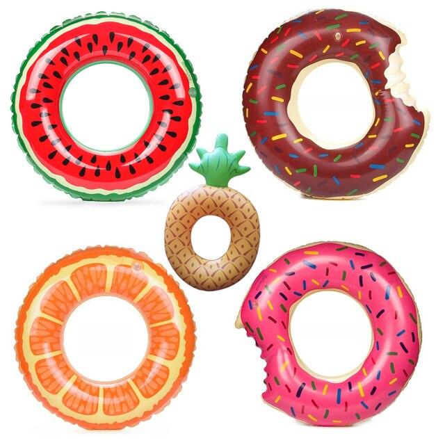 Забавные Надувные плавучести Плавание кольцо для Плавание ming каяк плавающей для взрослых Детские Плавание надувной бассейн игрушки спасательный круг S