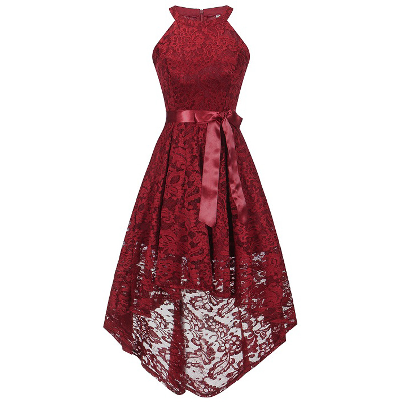 New Year Clothes Teenager Lace Elegance Wedding Bridesmaid Girl Dress For Christmas Girl Princess Party Girl clothing 13-20T