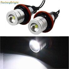 Rockeybright ксенон белый E39 led Ангельские Глазки halo светильник лампа головной светильник для bmw e39 e83 x3 e53 x5 e60 Автомобильные светодиодные габаритные огни «глаза ангела»