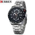 CURREN Brand 3ATM Waterproof Sports Watches Men Calendar Analog Quartz Watch Casual Dress Wristwatch 8148