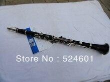 Bakelite Crampon Clarinet 17 Key Bb Flat Soprano Nickel Plating Exquisite with Cleaning Cloth Glove Woodwind Instrument/1986 B12