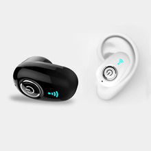 Bluetooth Hidden Invisible Earpiece Micro Mini Wireless Headset Sport Stereo Earphones Dropshipping MGR-S650