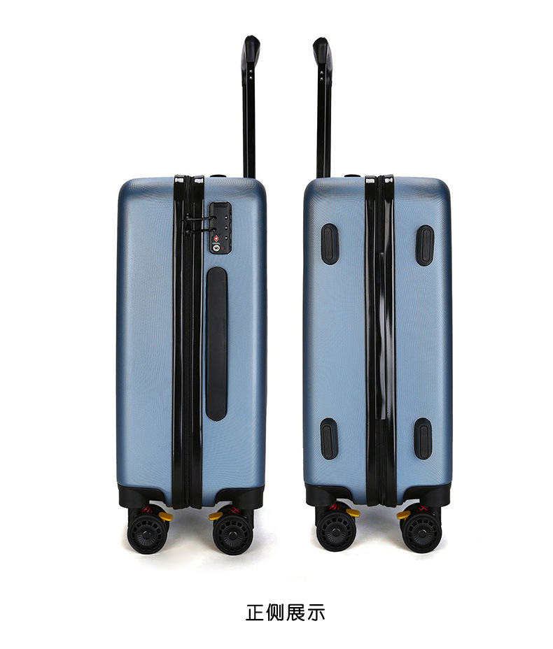 ZYJ Travel Trolley Luggage Men Women Alloy Business Solid Rolling Scratchproof Airplane Suitcase Luggage Spinner Wheels Trunk (15)