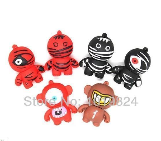 Good quality mini usb ninja cartoon doll flash memory 8G16G USB 2.0 Flash Memory Stick Drive Thumb/Car/Pen Gift S163usb stick