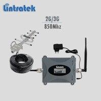 Lintratek GSM Cellular Signal Repeater 850Mhz UMTS 3G Repeater 850Mhz Mobile Phone Signal Booster Gsm Booster
