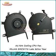 """Genuine new Laptop CPU fan for MacBook Pro Retina 13"""" A1708 cooling CPU fan MLL42 EMC2978 late 2016 year"""