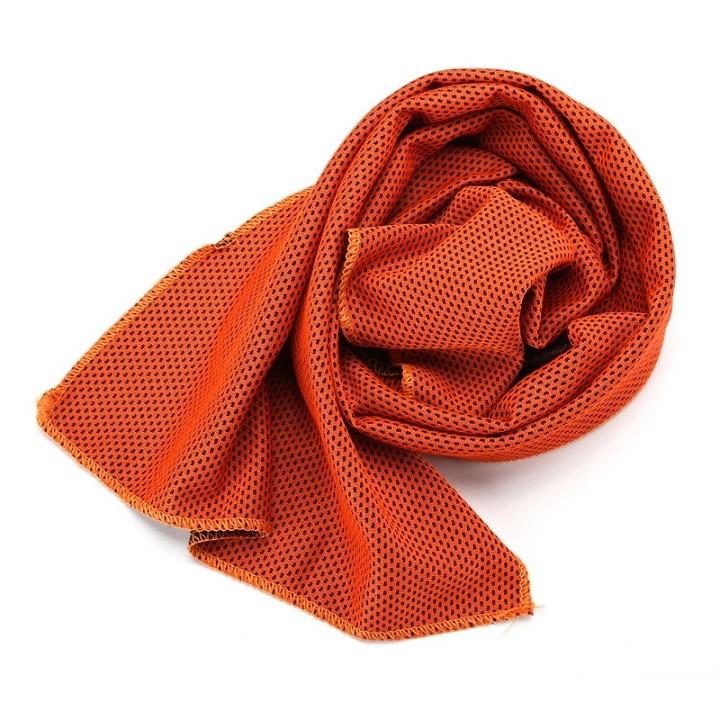 1 шт. купальники охлаждающее полотенце ледяной прочный для бега, спортзала Полотенца коврик для отдыха мгновенное охлаждение Спорт на открытом воздухе Полотенца - Цвет: O